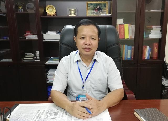 Ông Bùi Trọng Đắc - Giám đốc Sở GD-ĐT tỉnh Hòa Bình.