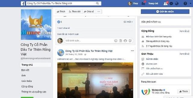 Một cách thức quảng bá thương hiệu ảo của Thiên Rồng Việt