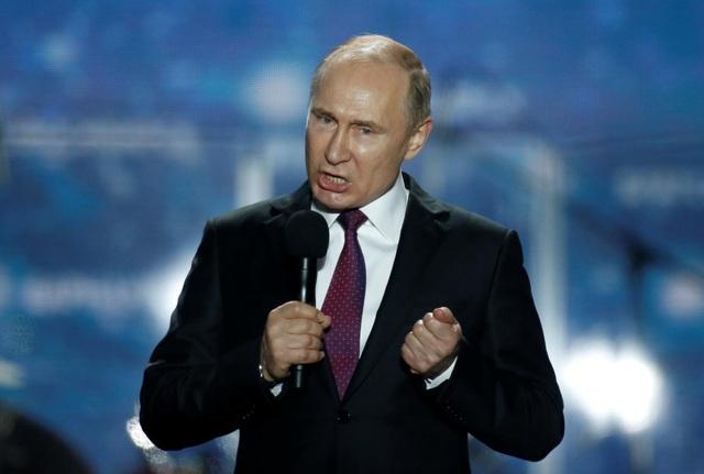 Tổng thống Nga Putin (Ảnh: Reuters)