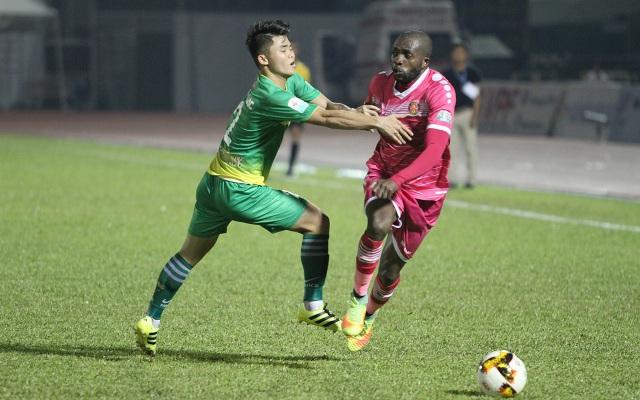 Sài Gòn FC và Cần Thơ sẽ có trận quyết đấu trên sân Cần Thơ (ảnh: Trọng Vũ)