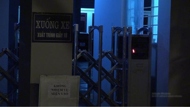 Những người không có nhiệm vụ và cả báo giới cũng không được tiếp cận vào khu vực bên trong.