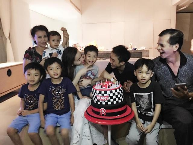 Cặp đôi tái hợp trong ngày sinh nhật bé Subeo.