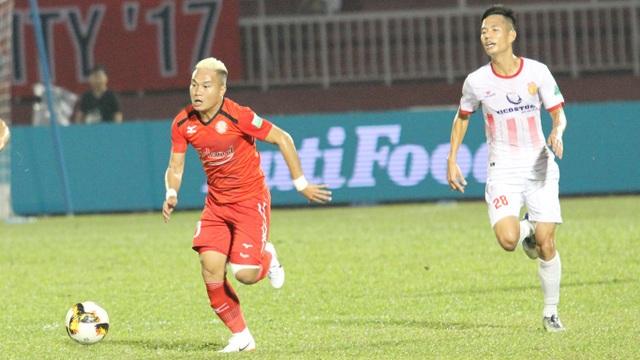 CLB TPHCM và Nam Định cũng sẽ có những trận đấu quan trọng ở vòng 20 (ảnh: Trọng Vũ)