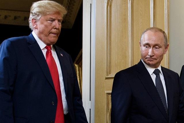 Tổng thống Nga Vladimir Putin và Tổng thống Mỹ Donald Trump (Ảnh: Reuters)