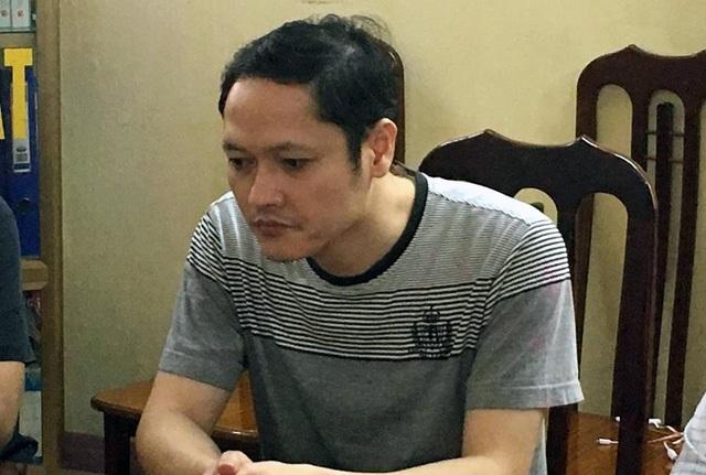 Bị can Vũ Trọng Lương trong buổi làm việc với CQĐT. (Ảnh: CTV)