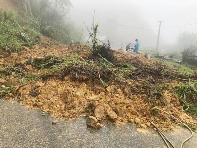 Xuất hiện hàng trăm điểm sạt lở do mưa lũ trên địa bàn tỉnh Thanh Hóa.