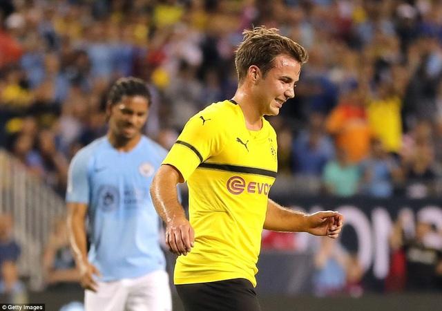 Mario Gotze ghi bàn duy nhất trận đấu