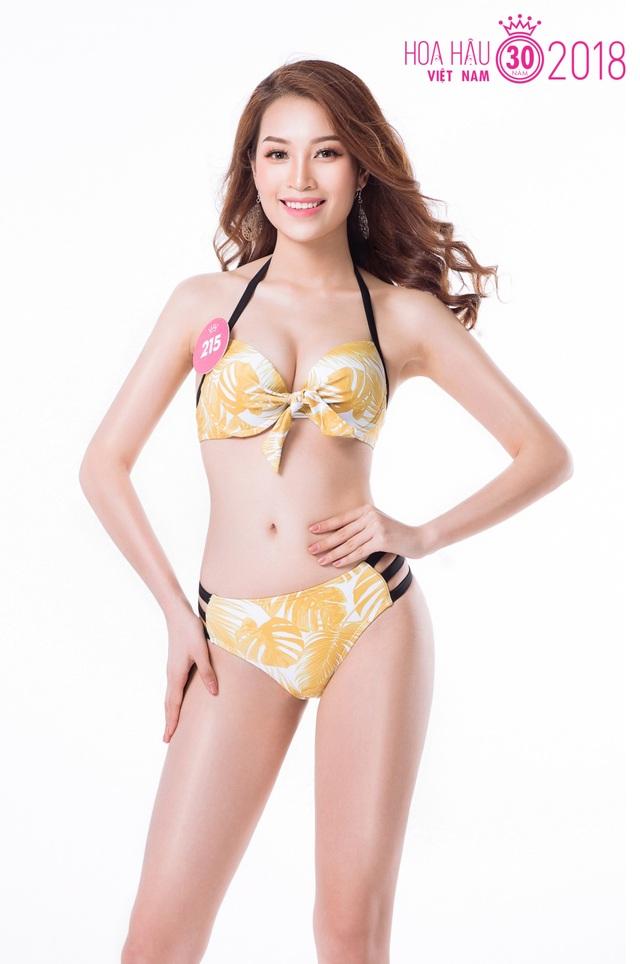 Thí sinh Hoa hậu Việt Nam 2018 nóng bỏng với trang phục bikini - 10