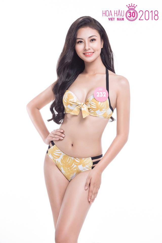 Thí sinh Hoa hậu Việt Nam 2018 nóng bỏng với trang phục bikini - 8