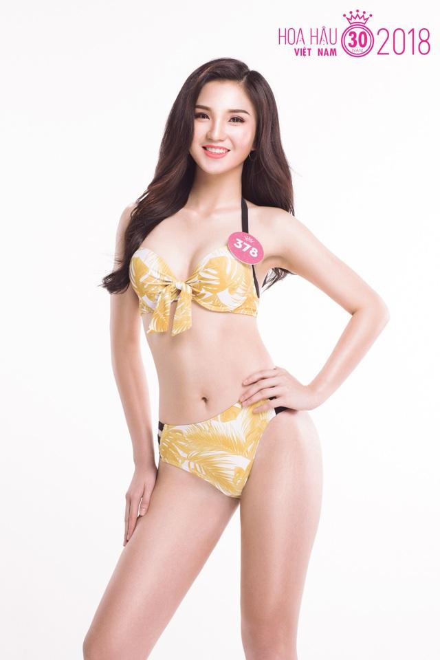 Thí sinh Hoa hậu Việt Nam 2018 nóng bỏng với trang phục bikini - 4