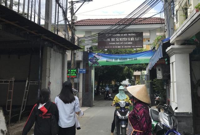 Thanh tra Bộ GD-ĐT kết luận trường ĐH Tài nguyên và Môi trường TPHCM có nhiều thiếu sót, sai phạm