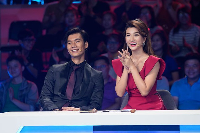 Kim Tuyến rất thu hút khi tham gia chương trình.