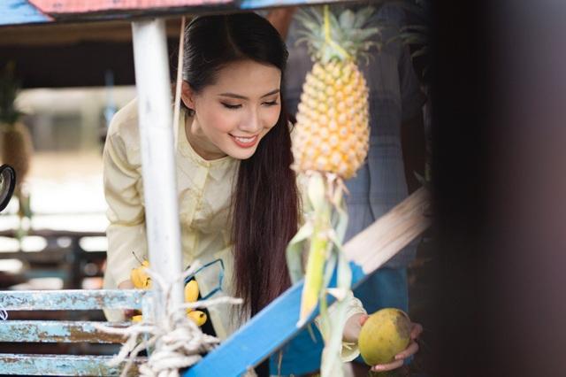 Phan Thị Mơ mang hình ảnh miền Tây sông nước đến cuộc thi Hoa hậu đại sứ du lịch thế giới 2018 - 9