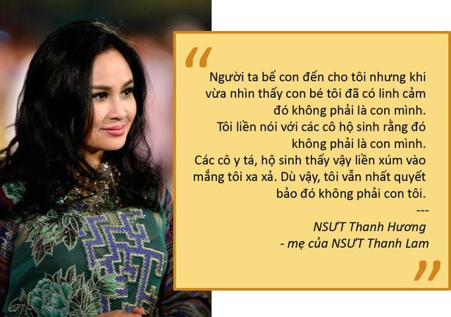 Ly kỳ chuyện diva Thanh Lam bị đánh tráo ngay khi vừa lọt lòng mẹ