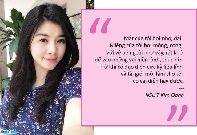 """NSƯT Kim Oanh: """"Đố đạo diễn nào mời tôi vào vai hiền lành"""""""