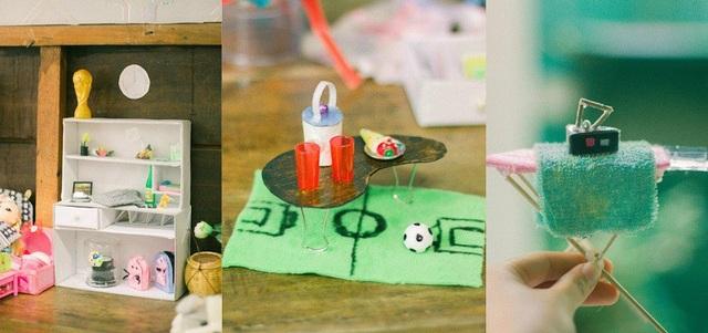 Những món nhỏ xinh của cô bé lớp 4