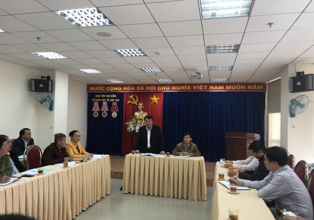 Buổi công bố kết quả chấm thẩm định tại Lâm Đồng
