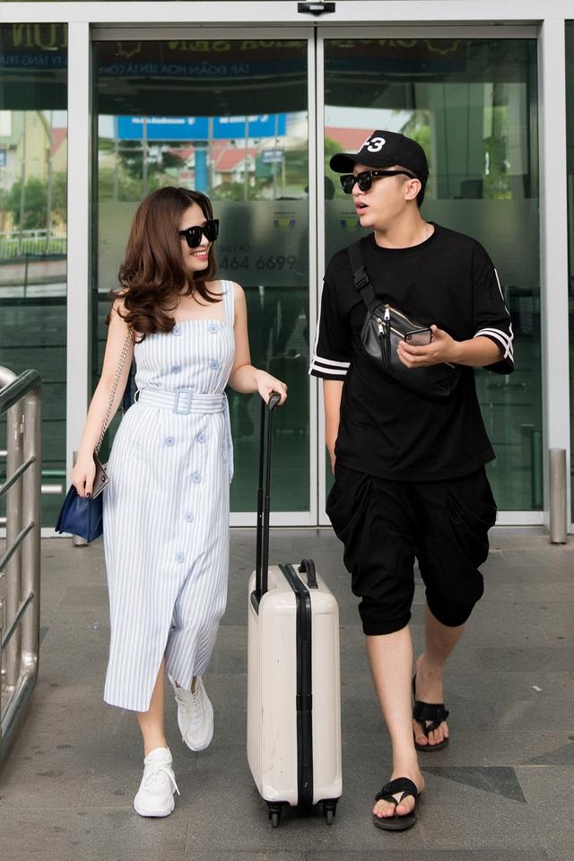 Ca sĩ Dương Hoàng Yến và Yanbi.