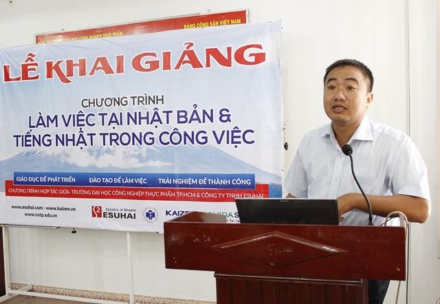 Khai giảng chương trình việc làm Nhật Bản tại Trường Đại học Công nghiệp Thực phẩm TP.Hồ Chí Minh
