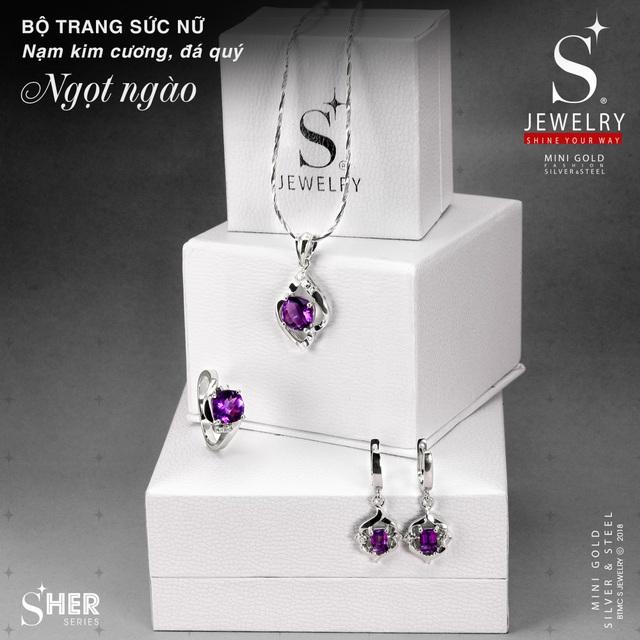 Sở hữu bộ trang sức nạm kim cương chưa bao giờ dễ dàng đến thế - 3
