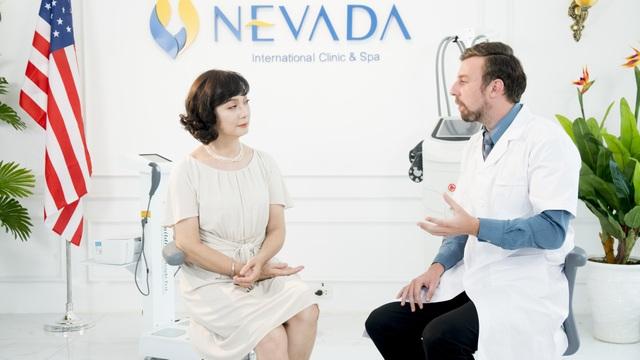 NSND Lê Khanh trải nghiệm dịch vụ làm đẹp tại Nevada.