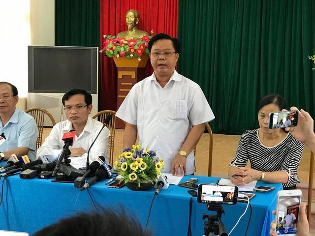 Ông Phạm Văn Thủy, phó chủ tịch UBND tỉnh Sơn La khẳng định: Phải coi đây là bài học kinh nghiệm rút ra để những năm sau thực hiện tốt hơn đợt thi vừa qua.