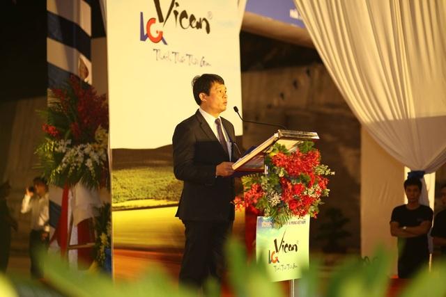 """Tổng giám đốc Vicem Bùi Hồng Minh: """"Tuyến đường tránh hoàn thành có ý nghĩa quan trọng, giúp cho quy hoạch tổng thể khu di tích lịch sử được hoàn chỉnh, hài hòa""""."""