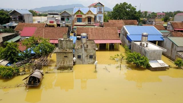 Hiện làng Bùi Xá còn rất ít hộ gia đình ở lại.