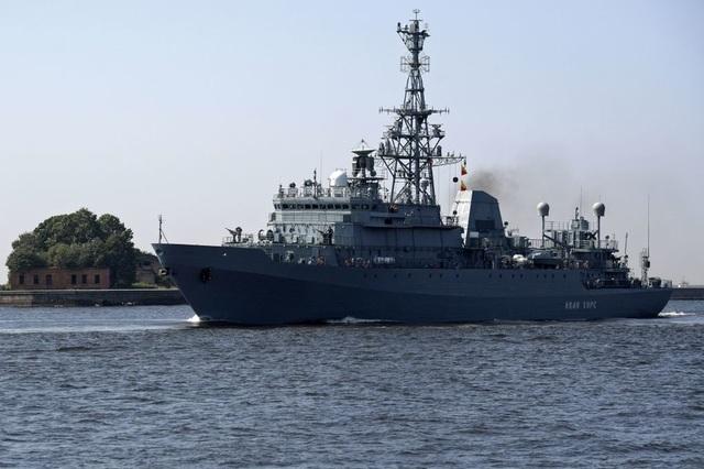 Tàu trinh sát Ivan Khurs (Ảnh: Sputnik)