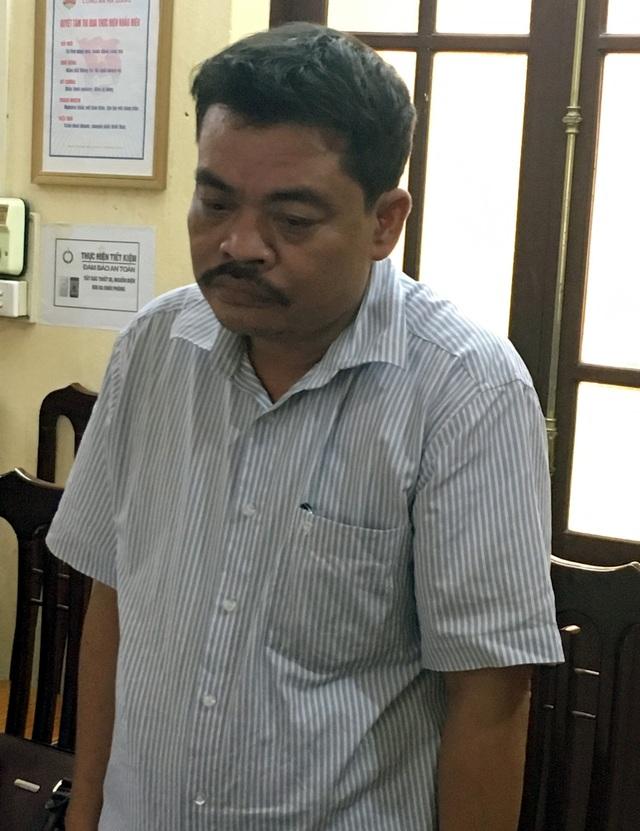 Bị can Nguyễn Thanh Hoài. (Ảnh: Diệu Loan)