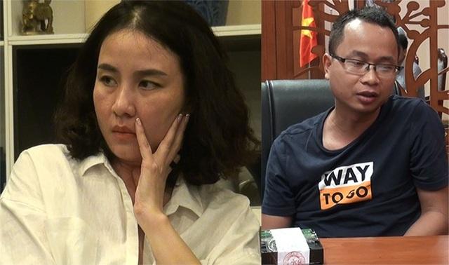Đối tượng Lưu Thị Hồng và Kim Thanh Thủy.