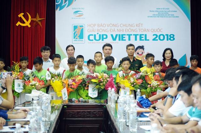 Tất cả các đội bóng đều đã sẵn sàng cho Vòng Chung kết Giải bóng đá Nhi đồng toàn quốc 2018.