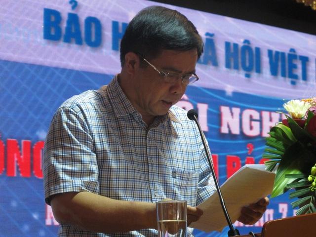 Ông Huỳnh Thanh Điền - Phó Chủ tịch UBND tỉnh Nghệ An phát biểu tại hội nghị.