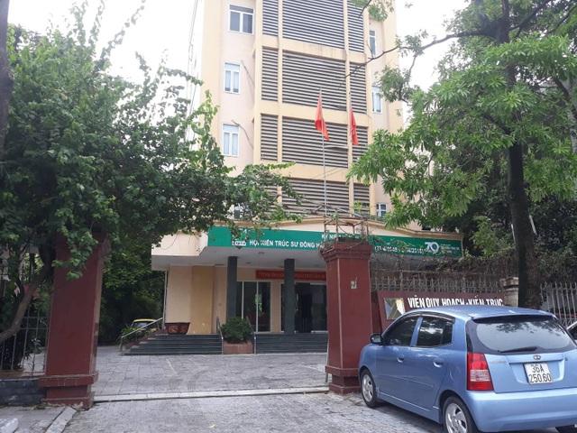Viện Quy hoạch- Kiến trúc