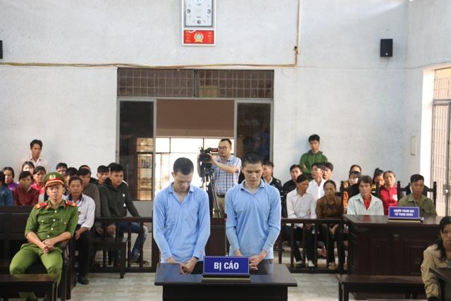 Hai bị cáo tai phiên tòa