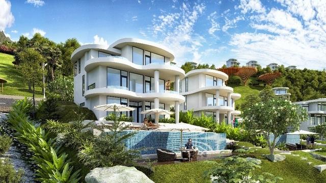Ivory Villas & Resort với quy mô rộng lớn 66ha.
