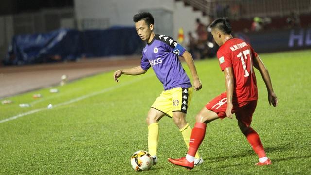 CLB Hà Nội là đội mạnh nhất của bóng đá Việt Nam thời điểm hiện tại (ảnh: Trọng Vũ)