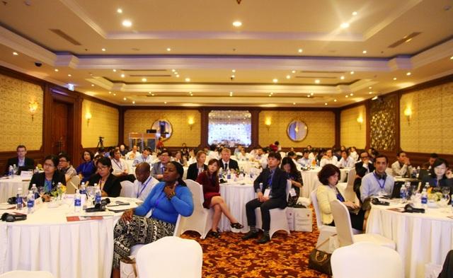 """Hội thảo quốc tế """"Nghề phổ biển nhất trên thị trường lao động hiện nay và sự biến động dưới tác động của kỷ nguyên số - Vai trò của Dịch vụ Việc làm Công""""."""