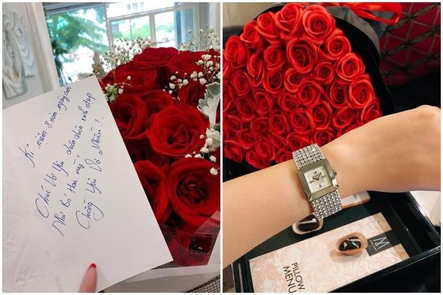 """Sắc hoa tươi thắm cùng lời nhắn gửi yêu thương khiến cô gái nào cũng """"tan chảy"""" trái tim."""