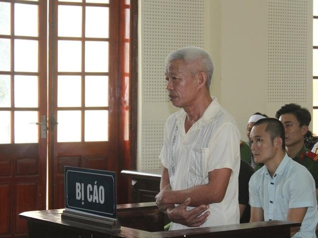 Bị cáo Nguyễn Văn Nhung tại phiên tòa