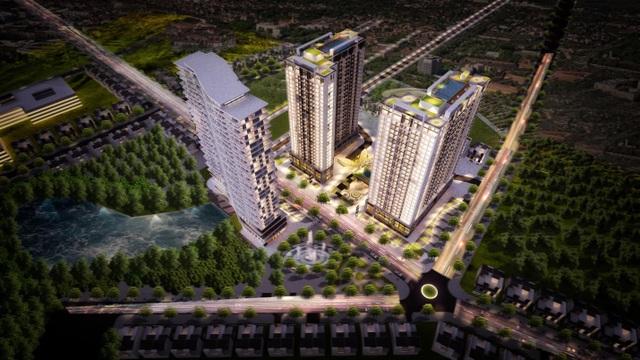 Dự án tọa lạc tại vị trí vàng của thành phố Bắc Giang, kết nối thuận lợi nhờ hệ thống hạ tầng hoàn thiện.