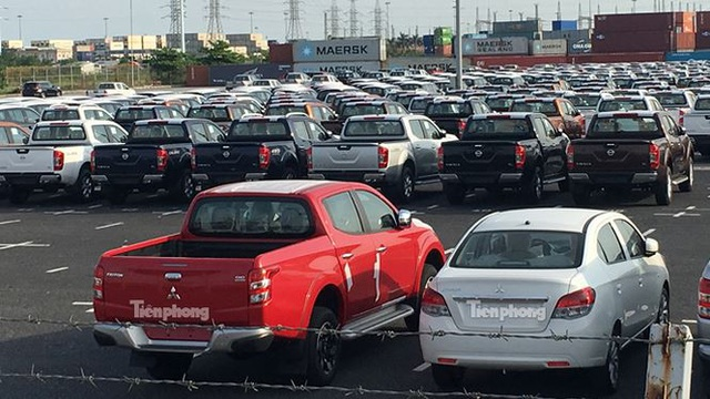 Loạt xe miễn thuế nhập khẩu Mitsubishi gồm có: Attrage, Triton, Pajero Sport...