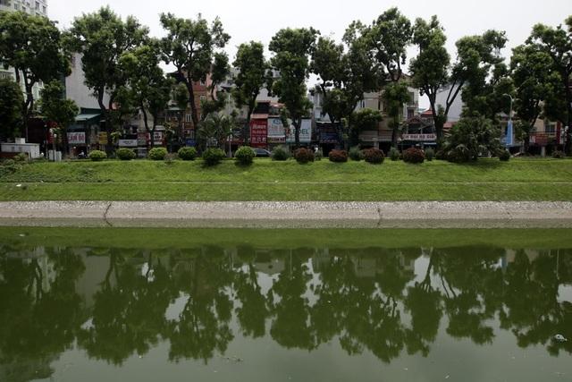 Sông Tô Lịch thời gian gần đây được ví như dòng sông chết bởi bị ô nhiễm nặng, dòng nước lúc nào cũng đen kịt và bốc mùi khó chịu. Tuy nhiên, hiện tại màu đen đã biến mất nhường chỗ cho màu xanh suốt chiều dài dòng sông.