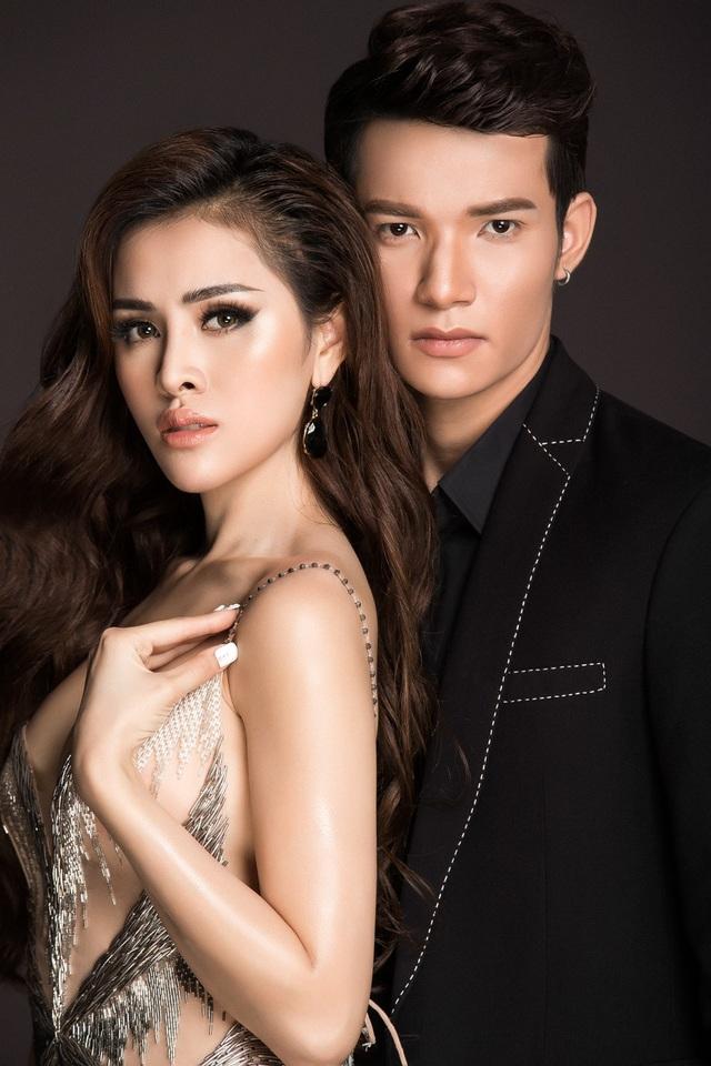 Hoa hậu Thư Dung tung ảnh gợi cảm, nóng bỏng bên mẫu nam - 6