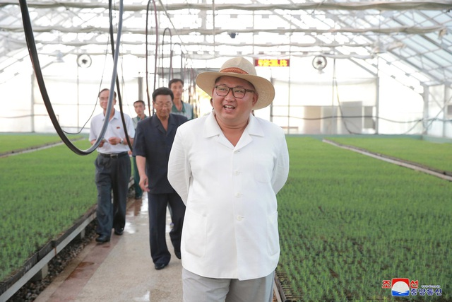 Ông Kim Jong-un đã dành lời khen cho các công nhân làm việc tại trại ươm khi cung cấp khoảng 20 triệu cây giống mỗi năm và giải quyết các vấn đề phát sinh trong quá trình quản lý một trại ươm quy mô lớn.