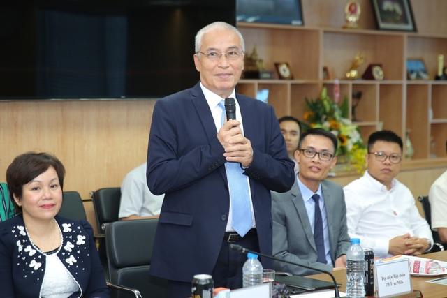 Ông Ngô Minh Hải - Phó chủ tịch HĐQT Tập đoàn TH phát biểu