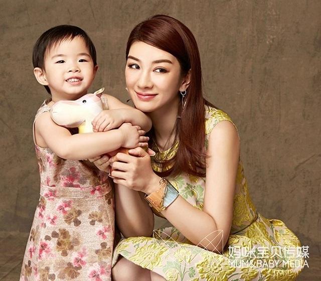Huỳnh Dịch và con gái duy nhất