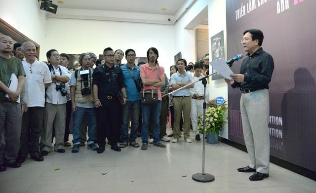 Thứ trưởng Vương Duy Biên phát biểu trong lễ khai mạc.
