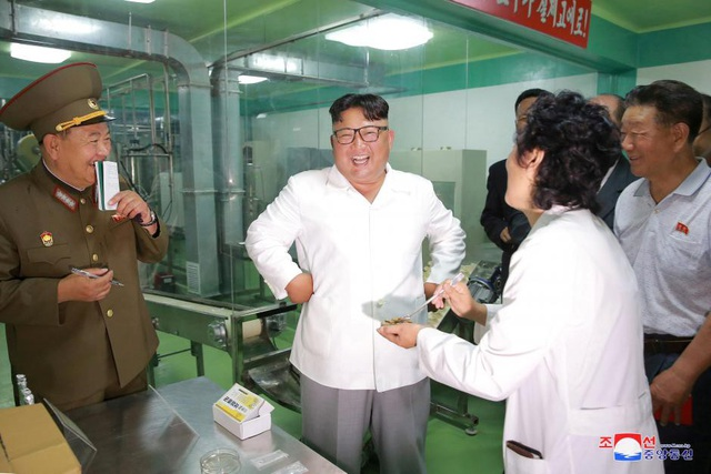 Nhà lãnh đạo Triều Tiên Kim Jong-un (Ảnh: KCNA)