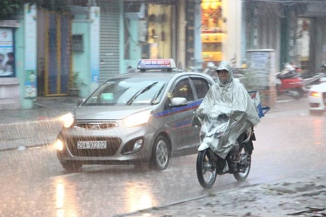 Chiều nay miền Bắc và khu vực Thanh Hóa có mưa lớn. (Ảnh minh họa: Nguyễn Dương).